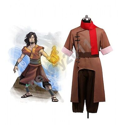Custom-made Avatar The Last Airbender Won Cosplay Costume Halloween Clothes New