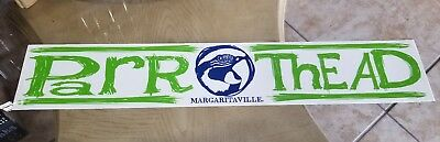 "Jimmy Buffet  3x17"" Parrot Head Margaritaville Sticker decal PARROTHEAD"