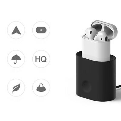 Fashion Charging Base Bracket Protective Cover Silicone Pad For Headset