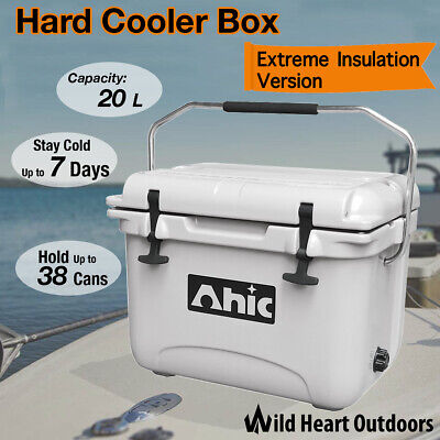 20L Hard Cooler Box Esky YETI Style Ice Chilly Bin Camping Picnic Fishing 2in1 T