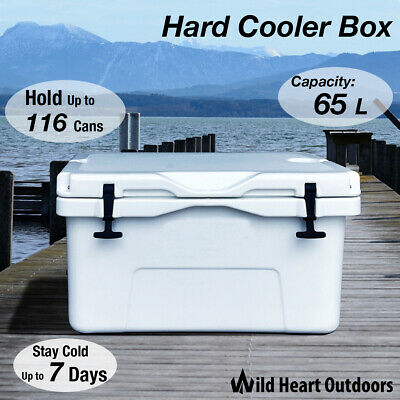 65L Hard Cooler Box Esky YETI Style Ice Chilly Bin Camping Picnic Fishing 2in1 T