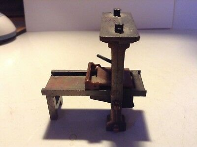 Vintage/ Antique Replica / Primitive Printing Press / Pencil Sharpener
