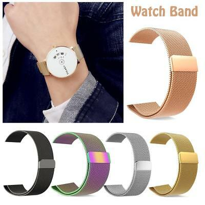 For Apple Watch Series 4 3 2 1 Magnetic Milanese Wrist Band Strap 38/40/42/44mm