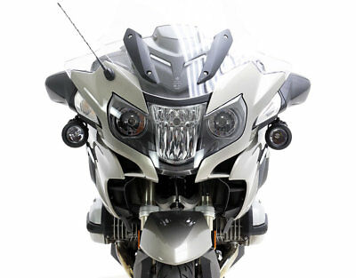 DENALI D2 TriOptic Lights and Mounting Bracket for BMW R1200RT '14-