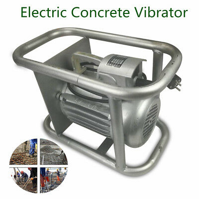 1500W PORTABLE HAND HELD ELECTRIC CONCRETE CEMENT VIBRATOR MOTOR 45mm BOTTLE NEW