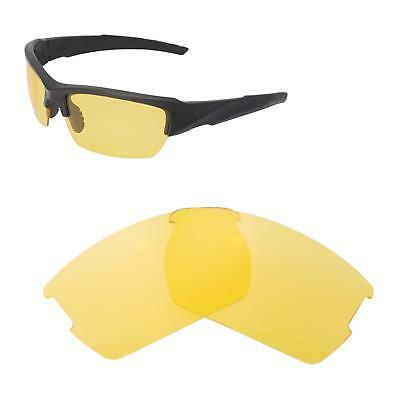 2240eb378c New Walleva Non-Polarized Yellow Replacement Lenses For Wiley X Valor  Sunglasses