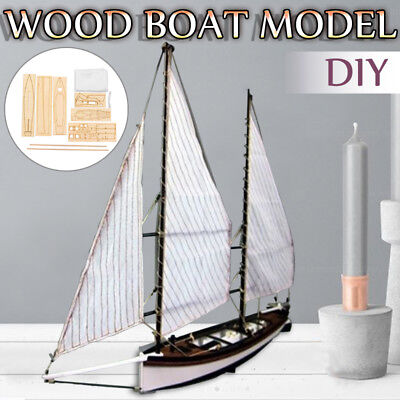 1:24 SCALE SHARPIE Ship Wooden Sailing Boat Model DIY Kits