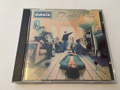 Oasis - Definitely Maybe - Cd - Excellent
