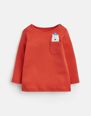 Joules 124964 All Over Print T shirt in RED