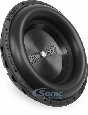 "New! Earthquake Sound SLAPS-M10 10"" High Performance Mass Tuned Passive Radiator"