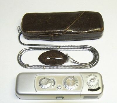 Minox B Camera with Case and Chain
