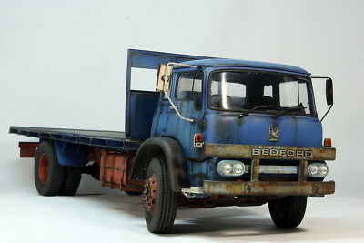 Bedrord KM British truck. 1/24 KFS built and painted model