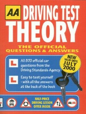 AA THEORY TEST: the official questions and answers for car