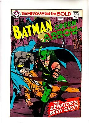 Brave and the Bold 85 1st updated Green Arrow
