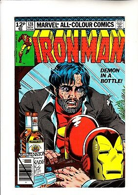 Iron Man 128 classic alcohol cover