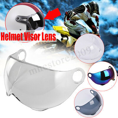 Motorcycle Face Shield Visor Lens For GXT M11 Helmet Clear Smoke Rainbow Mirror