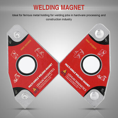 2pcs Multi-angle 30°60°45°90° Welding Magnets Holders Soldering Tools