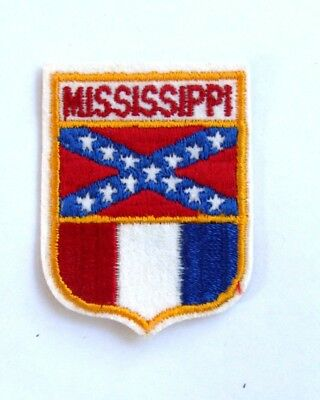 """Cloth Mississippi Patch - Travel Souvenir - 2 1/2"""" - FREE SHIPPING"""