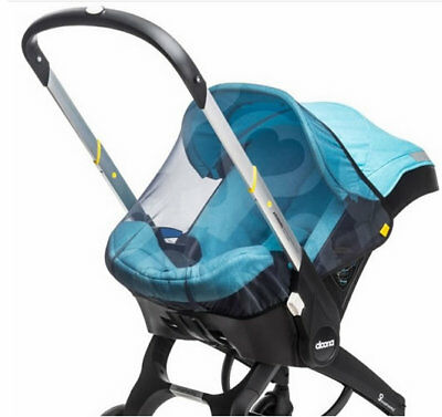 Brand new in box Doona car seat insect net in Black with carry bag