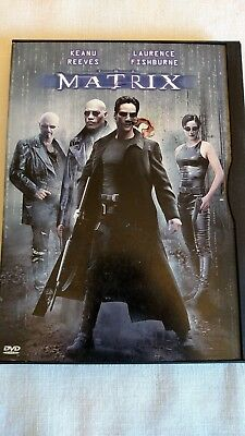 The Matrix (DVD, 1999) Starring Keanu Reeves and Laurence Fishburne