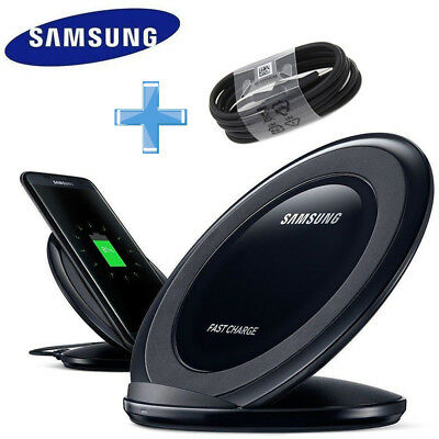 Genuine Wireless Charger QI FAST Charging for Samsung Galaxy S8 S9 S6 S7 Edge AU