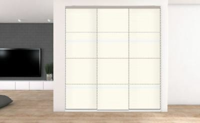 3 Sliding Wardrobe doors. Opening up to 2236mm. 40 options from £339.45 inc del.