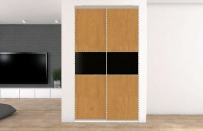 2 Sliding Wardrobe doors. Opening up to 1195mm. 32 options from £232.50 inc del.