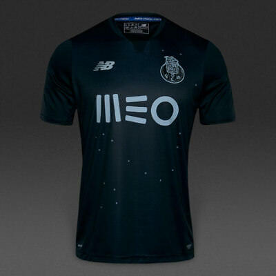 FC Porto Away Shirt 2016/17 New Balance - Black Men's Size Small (New with tags)
