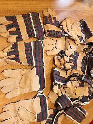 10 Pairs Riggers Gloves Gardening builders Hand protection