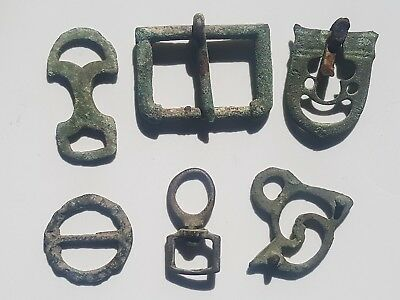 Lot of ancient Roman artifacts