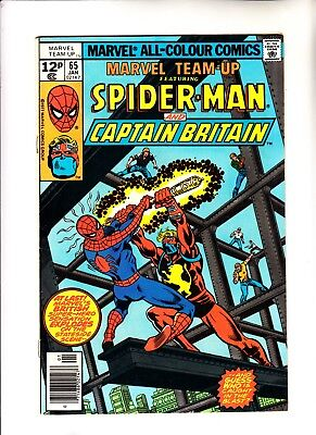 Marvel Team Up 65 and 66 1st app of Captain Britain (in US comics) and Arcade