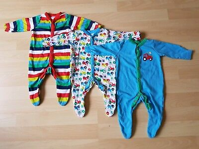 684fa33dd 3 X MOTHERCARE Baby Boys Sleepsuits Up To 1 Month - £5.00