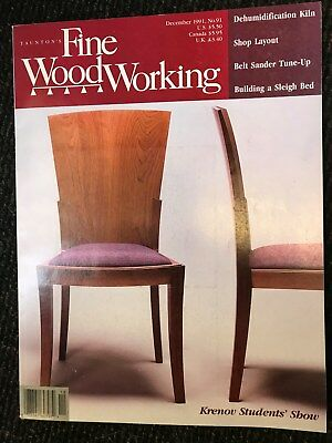 Taunton S Fine Woodworking Magazine Back Issues 1991 12 00 Picclick