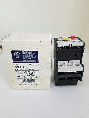 NEW General Electric GE RT1N Overload Relay