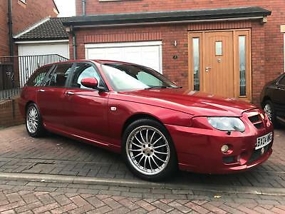 MG/ MGF ZT-T 2.0 CDTi 135 auto + Firefrost Red - Full Black Leather
