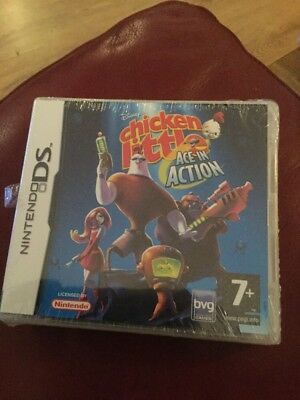 Chicken Little: Ace in Action (Nintendo DS Game New & Sealed