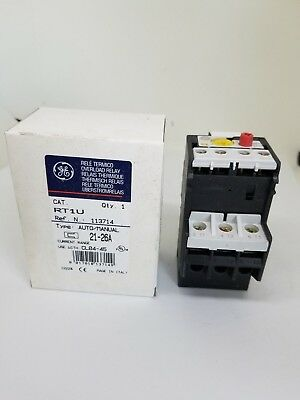 NEW General Electric GE RT1U Overload Relay CL04, CL45 Contactors