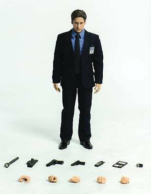 THE X-FILES AGENT FOX MULDER 1/6 Scale David Duchovny Action Figure by ThreeZero
