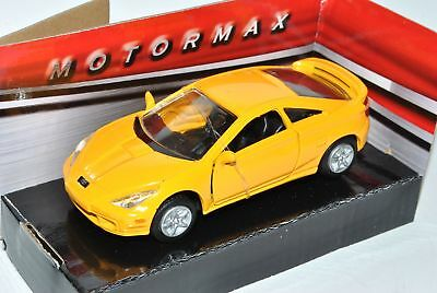 Toyota Celica Coupe Gelb T23 1999-2005 ca 1//43 1//36-1//46 Welly Modell Auto mit..