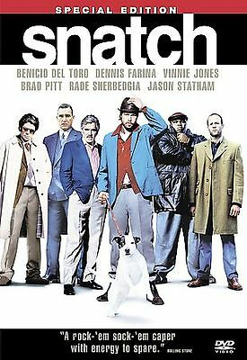 Snatch (DVD, 2001, 2-Disc Set, Special Edition) Widescreen