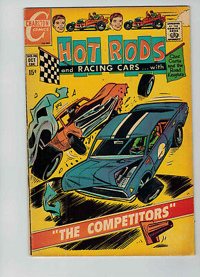 Hot Rods and Racing Cars #98 (Oct 1969, Charlton)