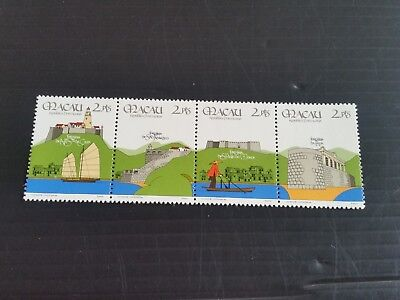 Macao 1986 Sg 634-637 10Th Anniv Of Security Forces Mnh (M)