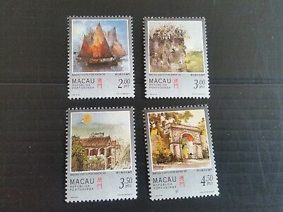 Macao 1997 Sg 974-977 Paintings Mnh (M)
