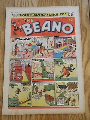 Beano Comic #722 (1956) - May 19th - VG+ Condition