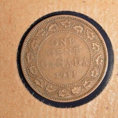 1911 Canada Large Cent - George V - Inv# T-94