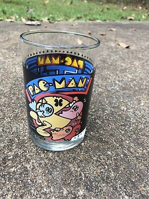 Vintage Pac-man Tumbler, 1980 Bally For arbys Collector Series