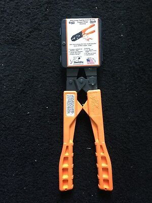SharkBite 1/2 in. and 3/4 in. Crimping Tool PEX pipe installations 23251
