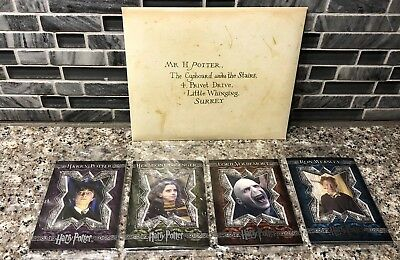 BRAND NEW SEALED Harry Potter Trading Cards 4 Packs of 4 Total 16 Count 2007