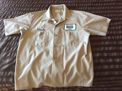 Vintage Dixie Beer Uniform Shirt
