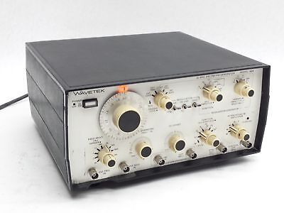 WAVETEK 148A 20MHz AM FM SWP PM WAVEFORM SIGNAL FUNCTION ATTENUATOR GENERATOR